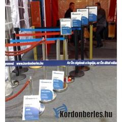 Szalagos kordon / Kordonláb / Vendégirányító
