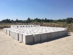 Betonfal / Beton kocka / Jersey Barrier